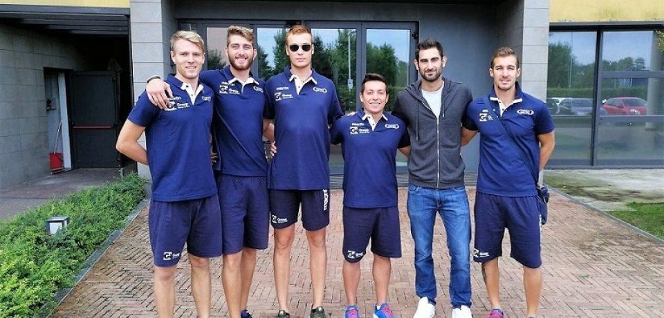 Inizia il ritiro del Gi Group Monza a Chiavenna