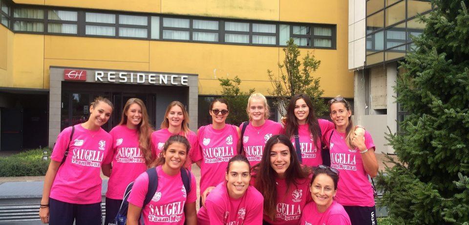 Concluso il ritiro del Saugella team a Chiavenna