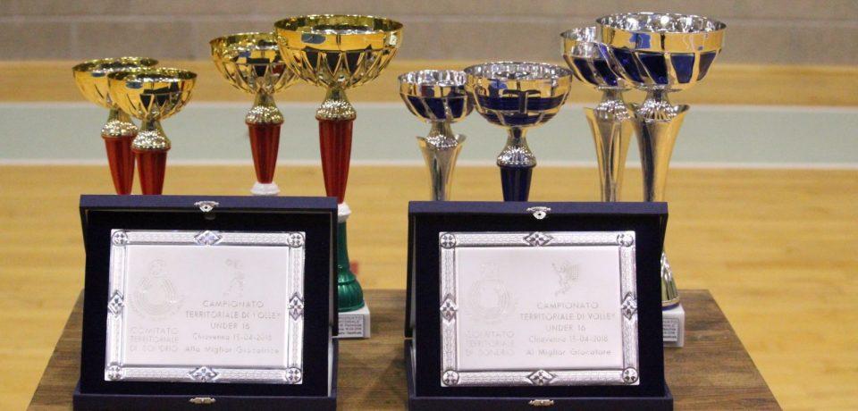 Volley 36 Chiavenna e Pallavolo Altolario A: le due regine dell'Under 16 (femminile e maschile)