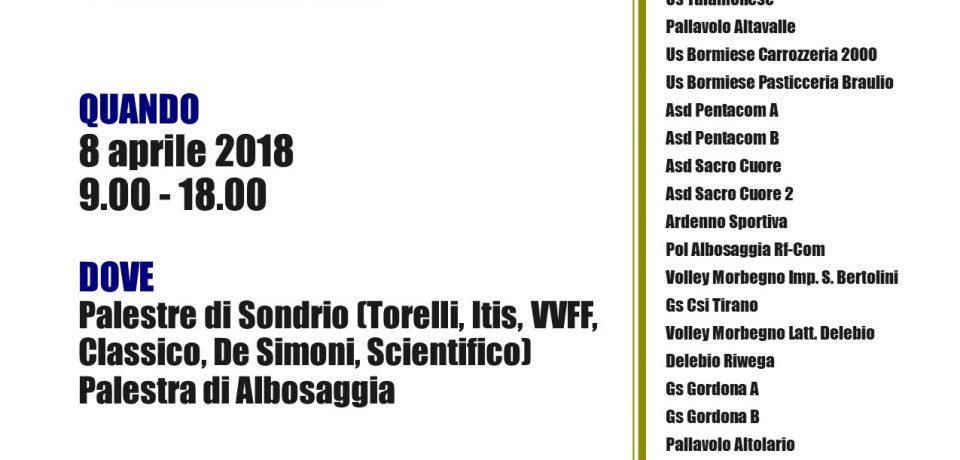 Domenica a Sondrio si giocano le finali territoriali del campionato Under 12 misto