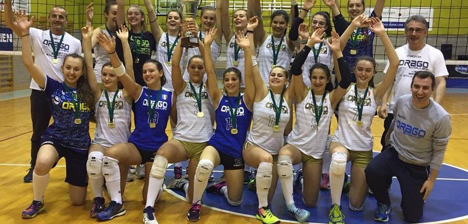Orago vince la finale regionale U16 femminile in Valchiavenna