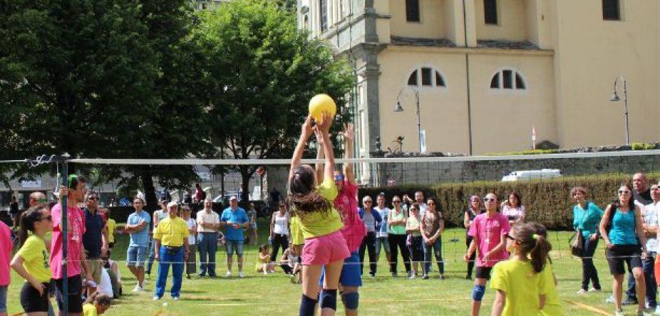 Distribuzione dei Kit a supporto del progetto Volley S3