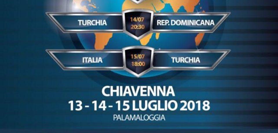 Torneo internazionale femminile a Chiavenna dal 13 al 15 luglio