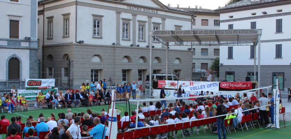 Il 7 settembre va in scena la Festa della Pallavolo Valtellinese