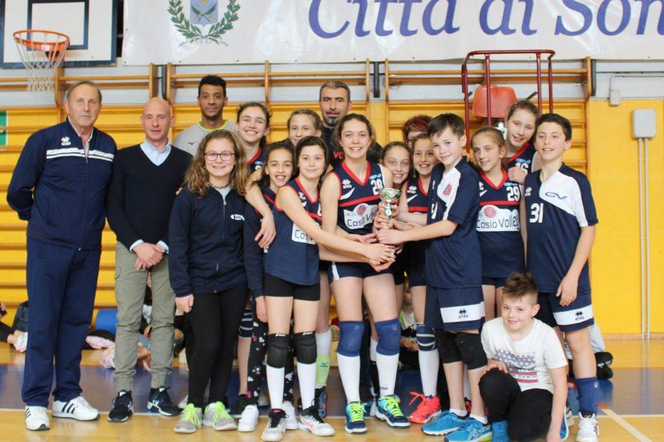 Cosio vince il campionato territoriale U12 misto