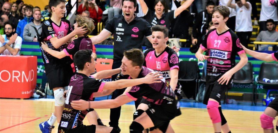 I Diavoli Rosa si impongono a Bormio nelle Finali Nazionali Under 14 maschili CRAI