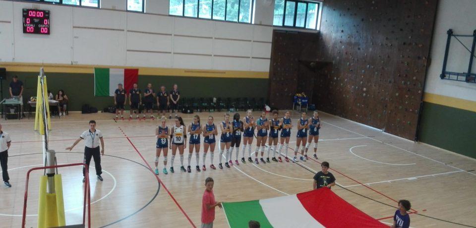 La Nazionale Italiana femminile è arrivata a Chiavenna