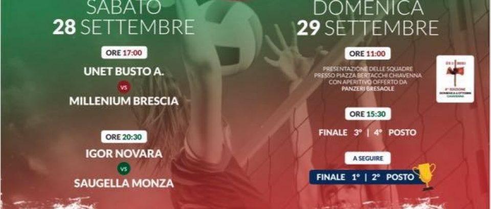 A fine settembre va in scena a Chiavenna il Trofeo Bresaole d'Autore